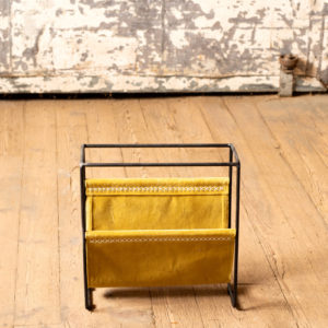 Velvet And Iron Magazine Rack - Honey