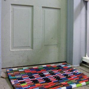 Recycled Flipflop Doormat 30 X 20