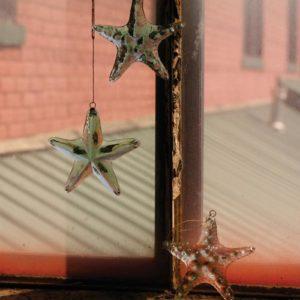 Glass Starfish Ornament