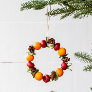 Rosehip And Kumquat Wreath Ornament Min 6