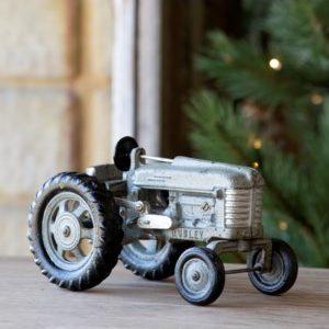 Cast Iron Grey Tractor