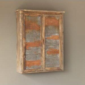 Barn Parts Wall Cabinet