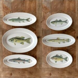 Collected Fish Platters Set of 6
