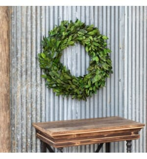 Gathered Laurel Wreath # 20