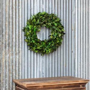 Gathered Laurel Wreath # 16