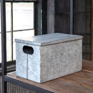 Foldable Metal Storage Box
