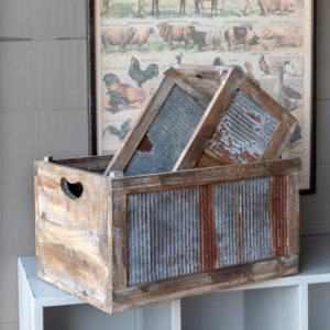 Barnside Harvest Crates Set of 3