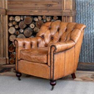 Todd Tufted Club Chair