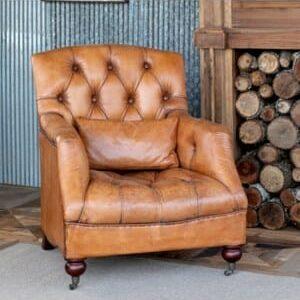 Charlie Tufted Club Chair