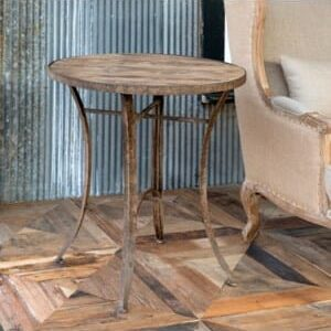Round Winery Table