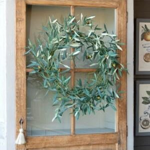 Tuscan Olive and Twig Wreath