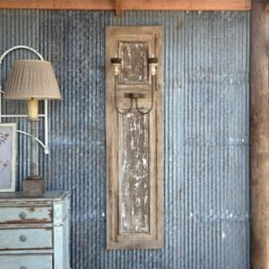 French Panel Wall Sconce