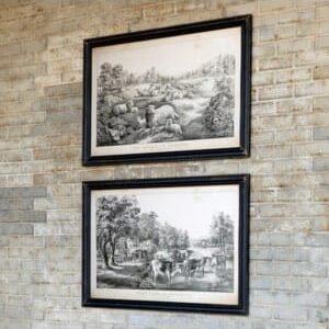 Framed Farmlife Prints 2 Asst Styles
