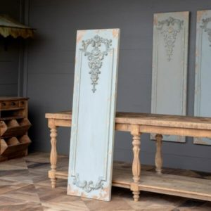 Aged Grey Wall Panel