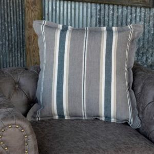 Tennessee Coal Striped Pillow