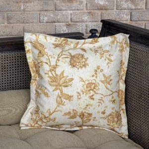 Chinoiserie Floral Pillow