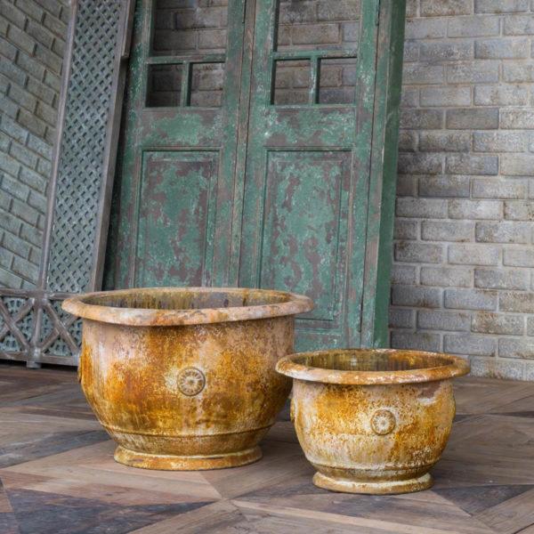 Standard Metal Garden Pot Set of 2