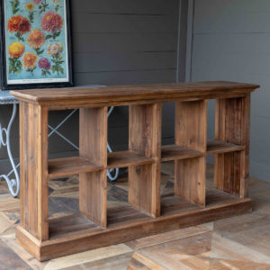 Merchant's Reclaimed Pine Box Display Island