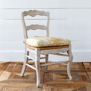 French Quarter Cushioned Dining Chair, Yellow Min 2