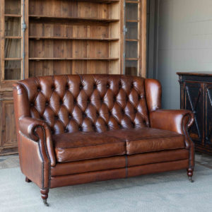 Louisville Tufted Back Settee