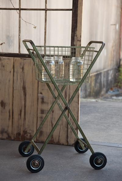 Vintage Style Rolling Cart