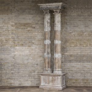 Double Pillar Architectural Relic