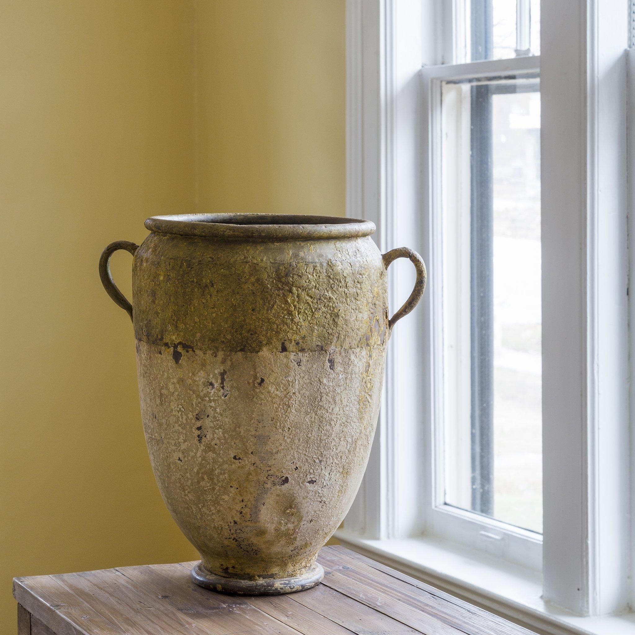 Medium Metal French Style Garden Pot