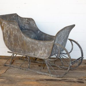 Old Fashioned Open Sleigh