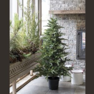 5' Potted Faux Fir Tree
