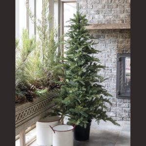 6' Potted Faux Fir Tree
