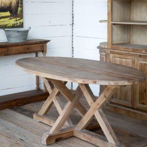 Oblong Trestle Table