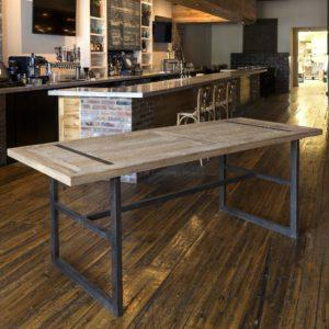 Reclaimed Oak Gathering Table
