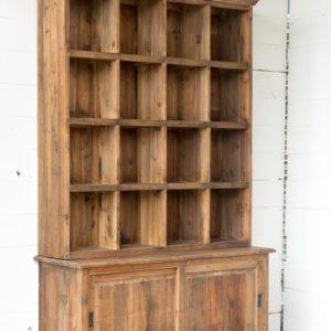 Old Pine Merchant's Cabinet