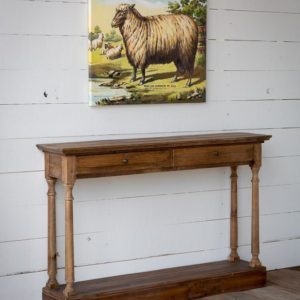 Reclaimed Pine Hall Table