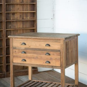 Old Pine Cottage Kitchen Island
