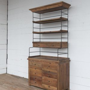 Old Pine Bakers Rack