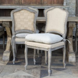 Weathered Oak Dining Chair (set of 2)