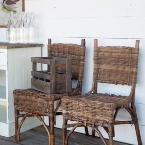 Rattan Bistro Chair (set of 2)
